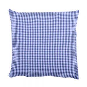 .amazon di Apart 100740-4040-8017 - Fodera per cuscino, misura media, modello Vichy, 40 x 40 cm, colore blu