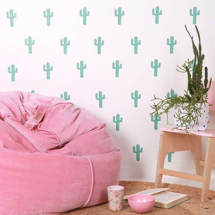 Arredare con le piante grasse architettura e design a roma for Stickers para habitaciones