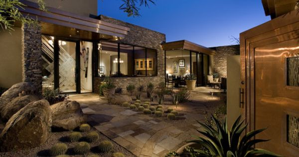 outdoor-peterson-architecture-associates-contemporary-exterior-arid-landscaping