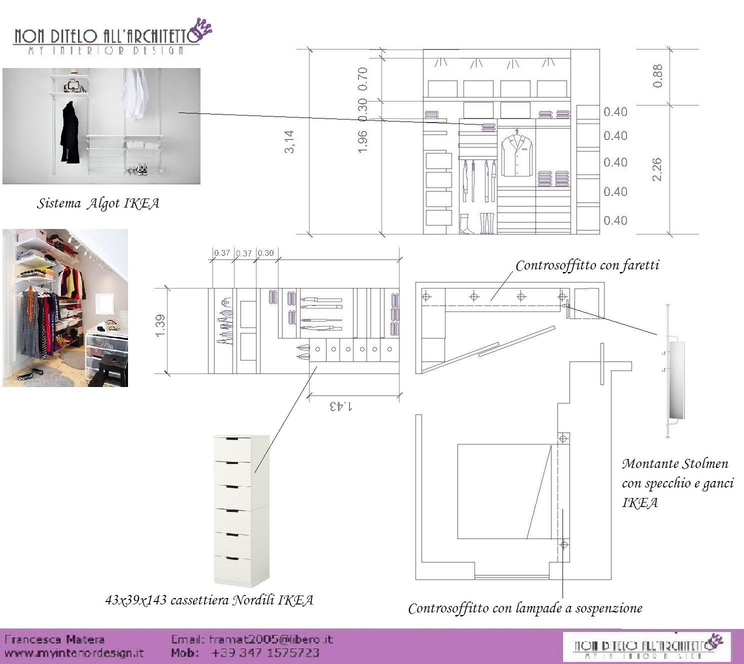 Armadio Con Cabina A Roma.Scheda Cabina Armadio Architettura E Design A Roma