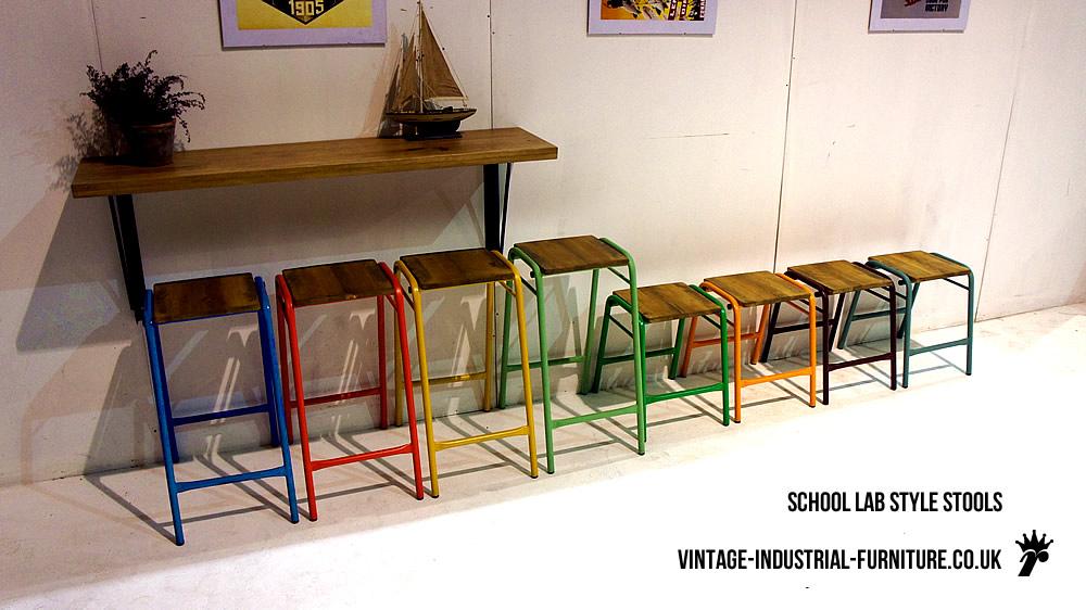 vintage sedie vintage-industrial-furniture.co.uk gli inglesi sono degli assi nel reperire arredi di questo genere