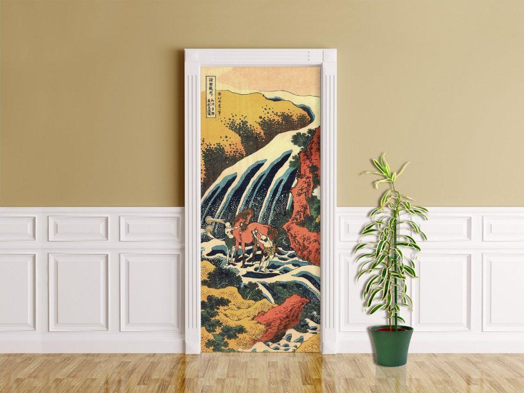 amazon-foglio-adesivo-per-porte-katsushika-hokusai