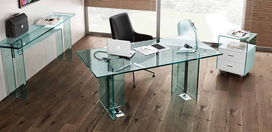 Finest with scrivanie vetro - Mobili in vetro ikea ...
