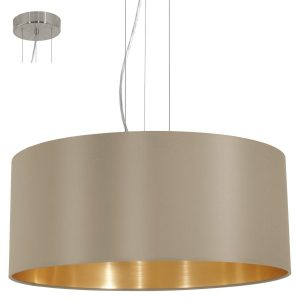 amazon-eglo-lampada-a-sospensione-3-luci-oro