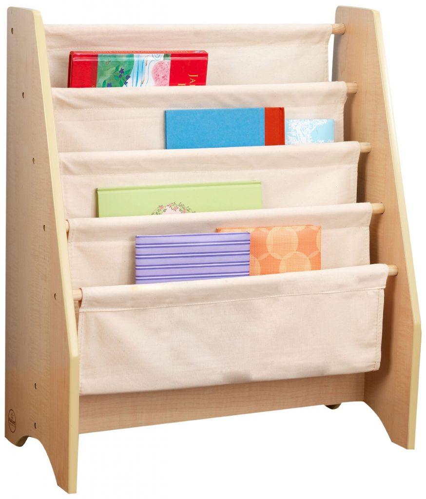 amazon-kidkraft-14221-libreria-in-legno-e-tessuto-in-colori-pastello