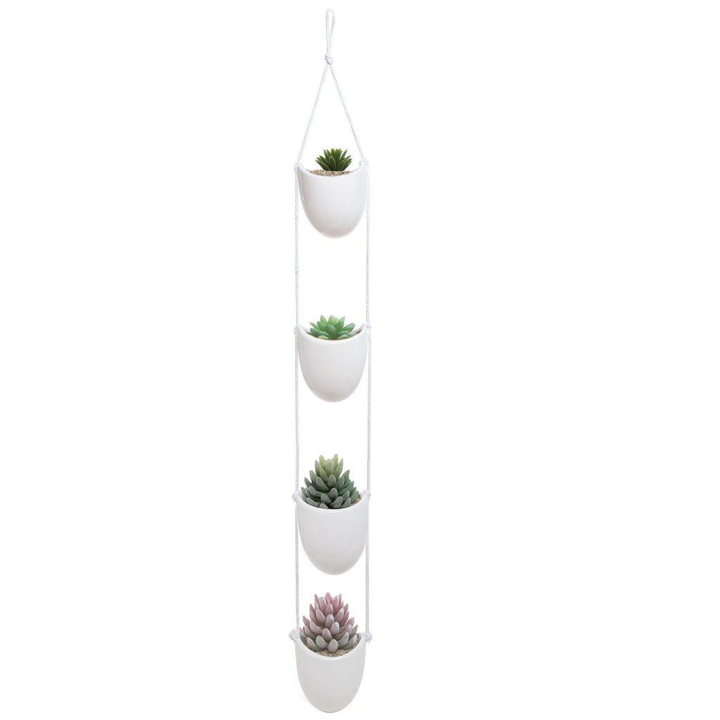 amazon-mygift-bianco-ceramica-corda-da-appendere-set-decorativo-con-4-vasi-per-fiori-vasi-display-ciotole