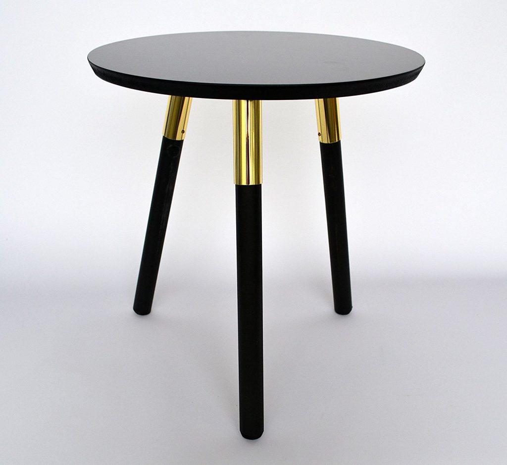 amazon-nuovo-design-moderno-in-legno-rotondo-contemporaneonero-e-oro