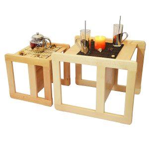 amazon-set-mobilio-multifunzionale-3-in-1-per-bambini-un-tavolino-multifunzionale-e-una-sedia-multifunzionale-per-bambini-o-due-tavolini-da-caffe-per-adulti-in-faggio-lacca-chiarra