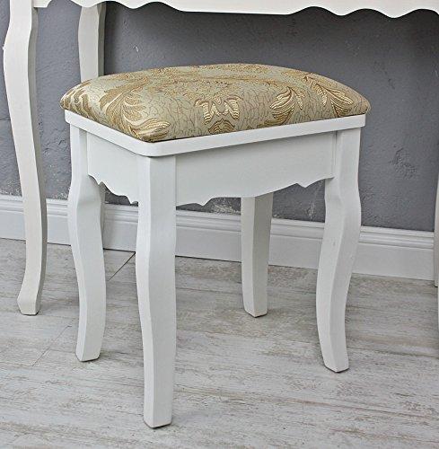 amazon-sgabello-sgabello-floral-oro-bianco-landhaus-sgabello-da-toeletta-in-legno-fiori-shabby