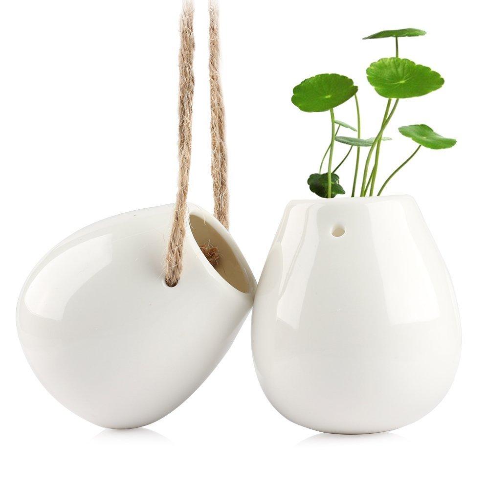 amazon-vaso-da-appendere-smater-macrame-plant-hanger-ceramica-decorativa-vaso-da-fiori-vaso-acqua-per-piante-vase-white