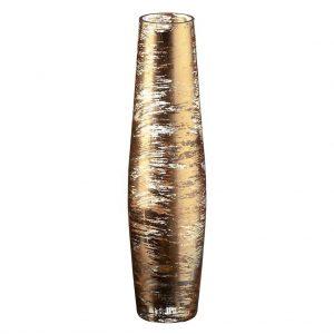 amazon-vaso-vaso-in-vetro-vaso-esclusivo-collezione-golden-dust-oro-trasparente-35-cm-lavorato-a-mano