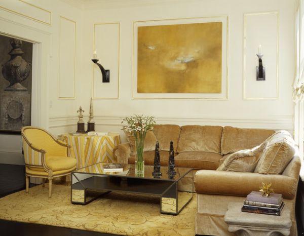 decorazione-living-boiserie-con-profili-oro-e-campitura
