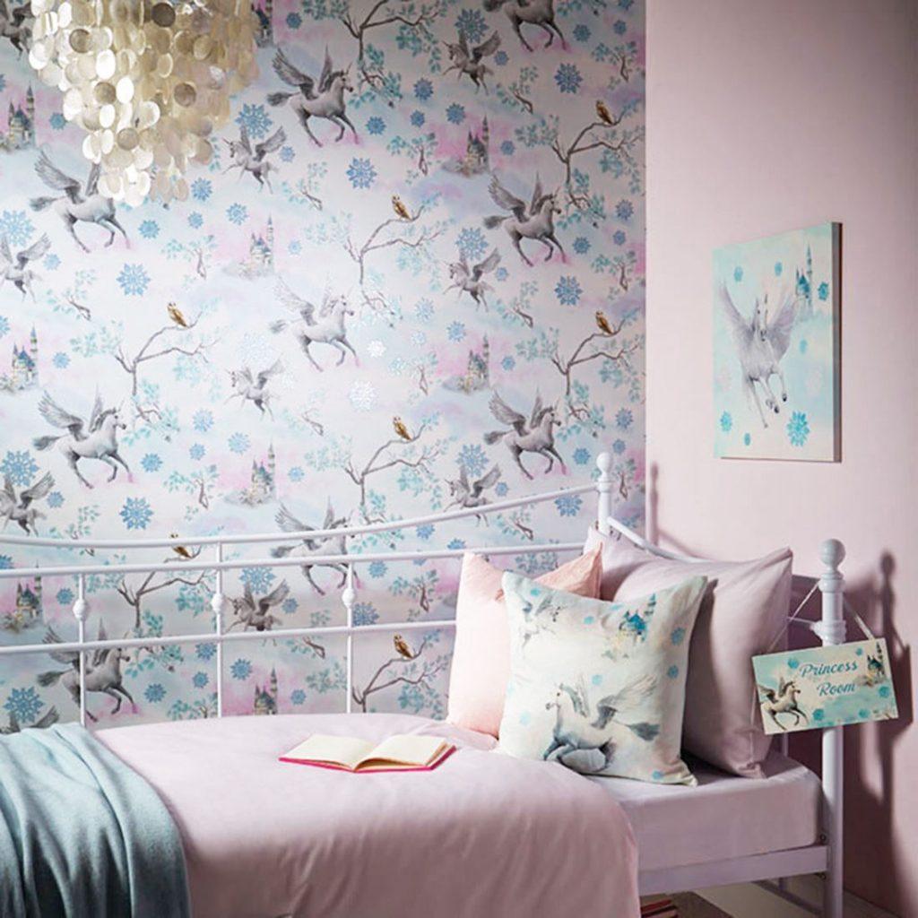 lketto-fairytale-unicorn-carta-da-parati-cavallo-testurizzato-effetto-glitter-blue-bianco-ghiaccio