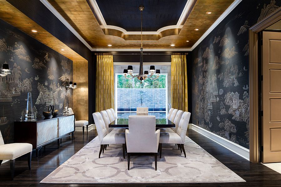 nero-e-oro-mediterranean-dining-room-in-gold-and-black-with-modern-vibe