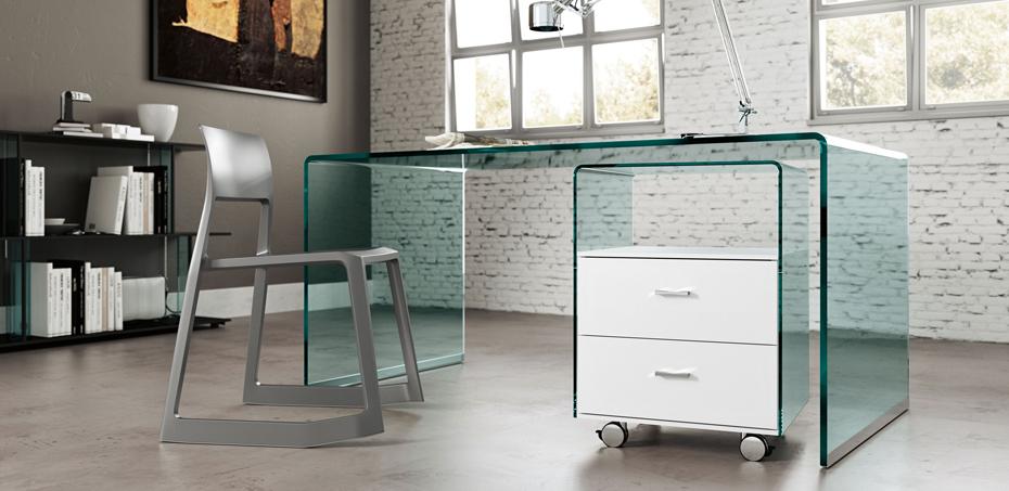 scrivania-rialto-cassettiera-rialto_fiam-vetro-curvato-15mm-e-dettagli-in-alluminio-brillantatato