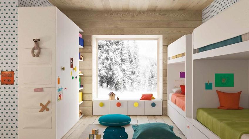 Come progettare una camera per quattro - Architettura e design a Roma