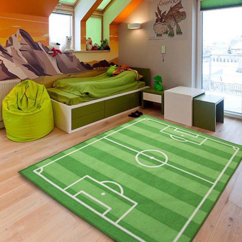 Un tappeto campo da calcio in cakeretta o in salotto per i più audaci! Lo trovate QUI dimensione 100x130cm