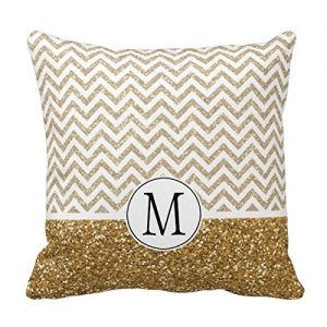 amazon-lightinglife-federa-cuscino-cover-oro-glam-faux-glitter-chevron-throw-pillow-cover