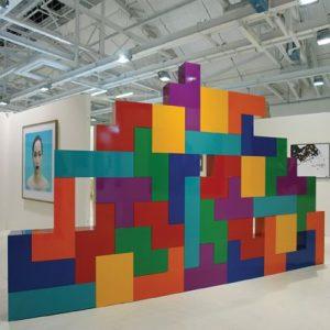 tetris parete artistica