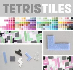 geek tetris tiles collezione di maioliche inglesi per decorare le pareti della vostra cucina.