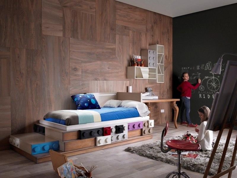 lego La società spagnola Lola Glamour, ha pensato ad una moderna collezione di mobili ispirati a i mattoncini LEGO2