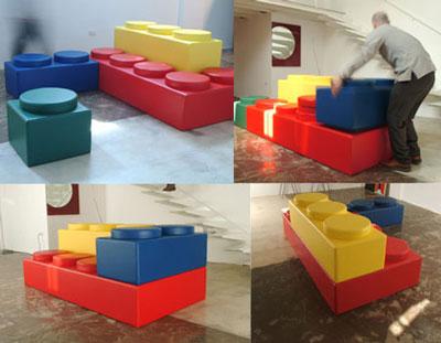 lego divano sedute componibili legodisegnate da alfonso vitale le sedute che si ispirano al lego sono prodotte da nomadesign e vengono a partire da 350 euro al pezzo