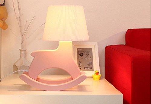 mazon-zqqx-moda-bambini-home-decor-design-lampada-tavolo-creativo-cavallo-a-dondolo-di-nozze-camera-da-letto-semplice-lampada-lampada-da-comodino-rosa