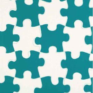 puzzle carta da parati di paperboy