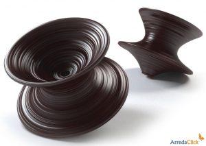 tro L'azienda Magis insieme al designer Thomas Heatherwick producono Spun, la seduta roteante in polietilene adatta anche a est.