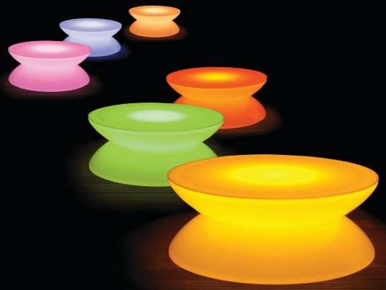 trott yo yo playful-neon-tables-illuminated-yo-yo