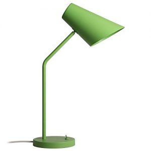 .amazon luceconcept studio, lampada a led da tavolo o da ufficio, verde opaco