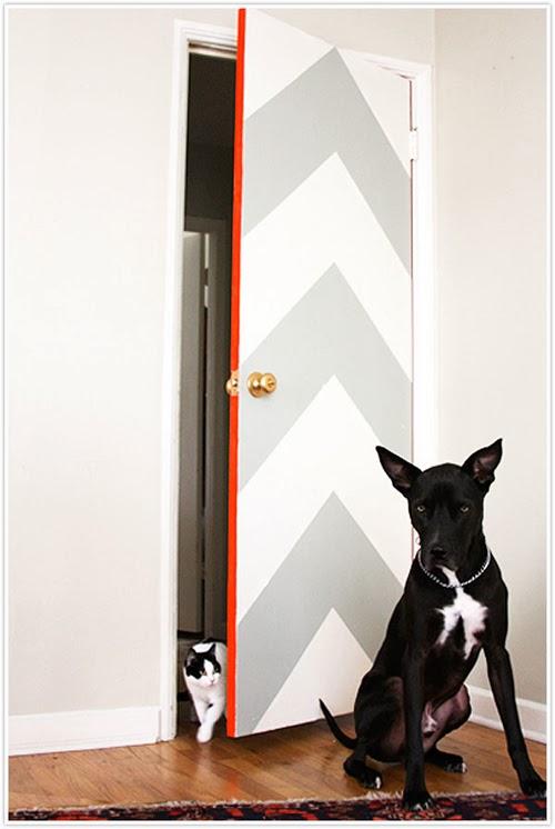 porta ridipinta