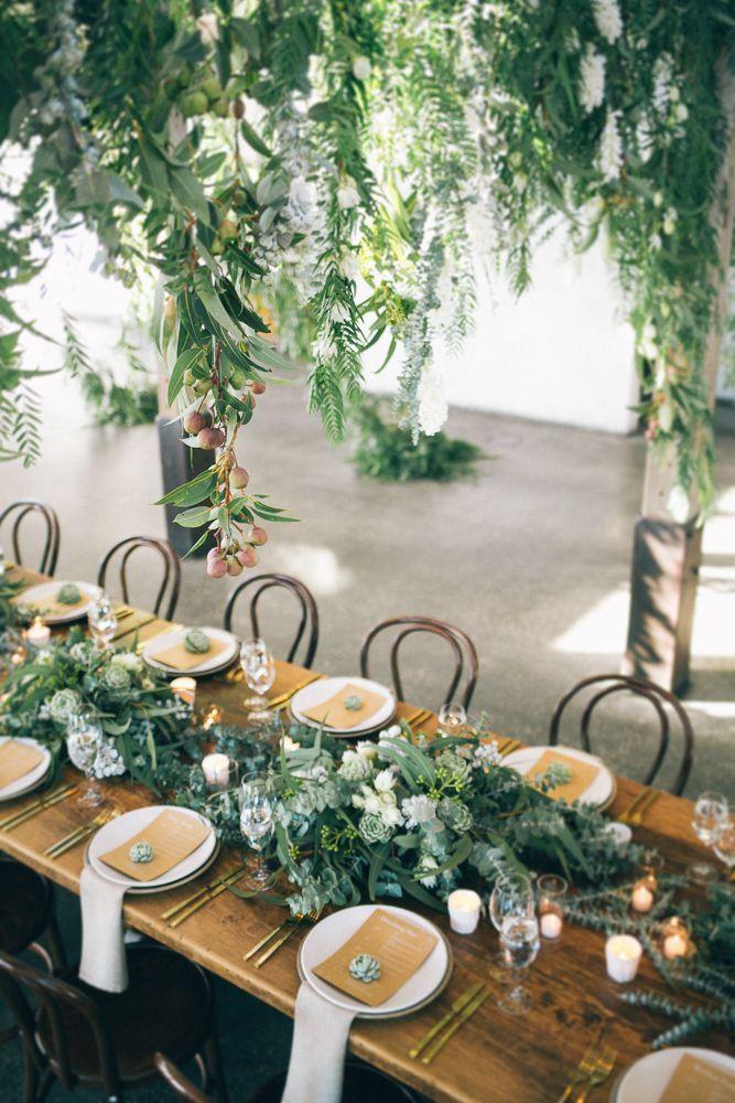 matrimonio greenery allestimento