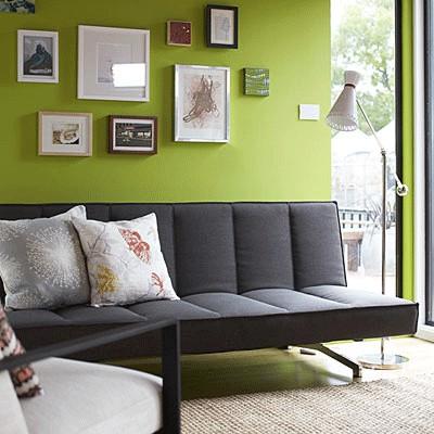greenery pantone 2017 + grey