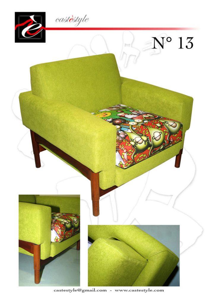 poltrone e sedute artistiche www.castestyle.com 2