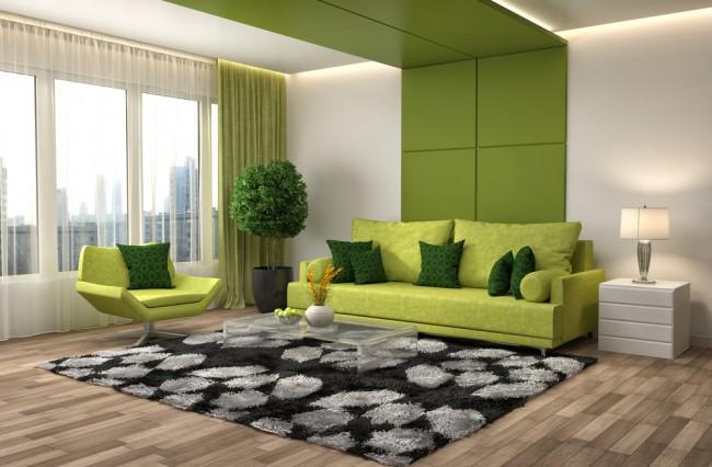 colore pantone greenery