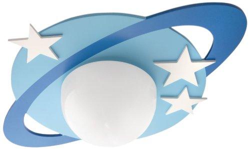 Un arredamento di design…spazziale! - image amazon-Philips-Cronos-Lampada-da-Soffitto-Bambino-Motivo-Stelle-Diametro-33-cm on http://www.designedoo.it