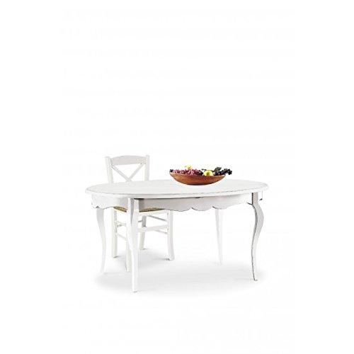 Come progettare la cucina con angolo pranzo in modo for Tavolo ovale bianco design