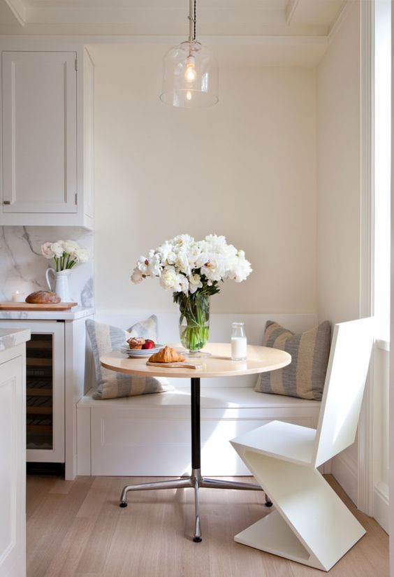 Tavolo Cucina Con Panca Angolare.Come Progettare La Cucina Con Angolo Pranzo In Modo