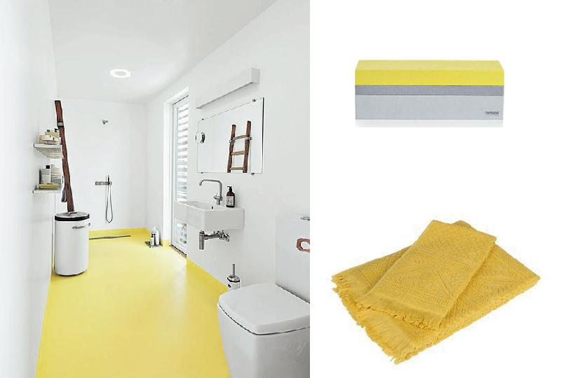 Arredare con il giallo a primavera speciale pasqua - Rinnova tutto bagno ...