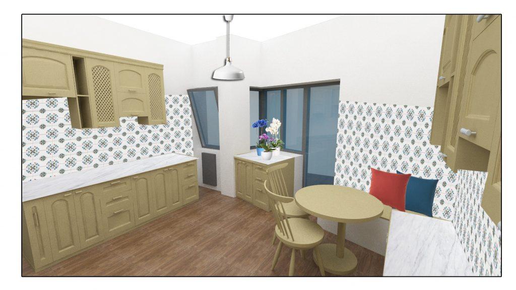 Come progettare la cucina con angolo pranzo in modo for Come progettare mobili