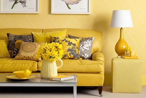 arredare con il giallo a primavera
