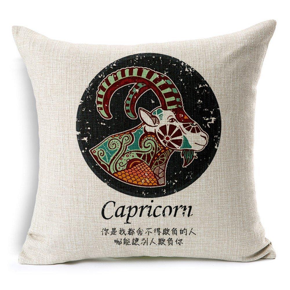 Un arredamento di design…spazziale! - image amazon-Cotone-e-Lino-Cuscino-Decorativo-Throw-Pillow-Cover-cuscino-zodiaco-costellazione-Throw-Pillow-federa-per on http://www.designedoo.it