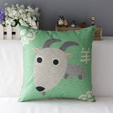 Un arredamento di design…spazziale! - image amazon-Zodiaco-cinese-Pecora-in-cotone-e-lino-federa-cuscino-cover on http://www.designedoo.it