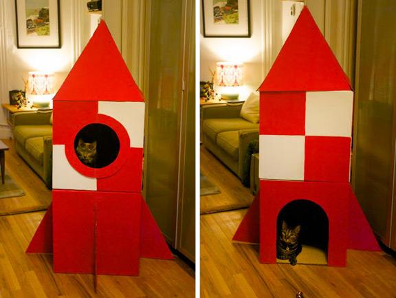 Un arredamento di design…spazziale! - image navicella-cameretta-Cat_Rocket_Finished3 on http://www.designedoo.it