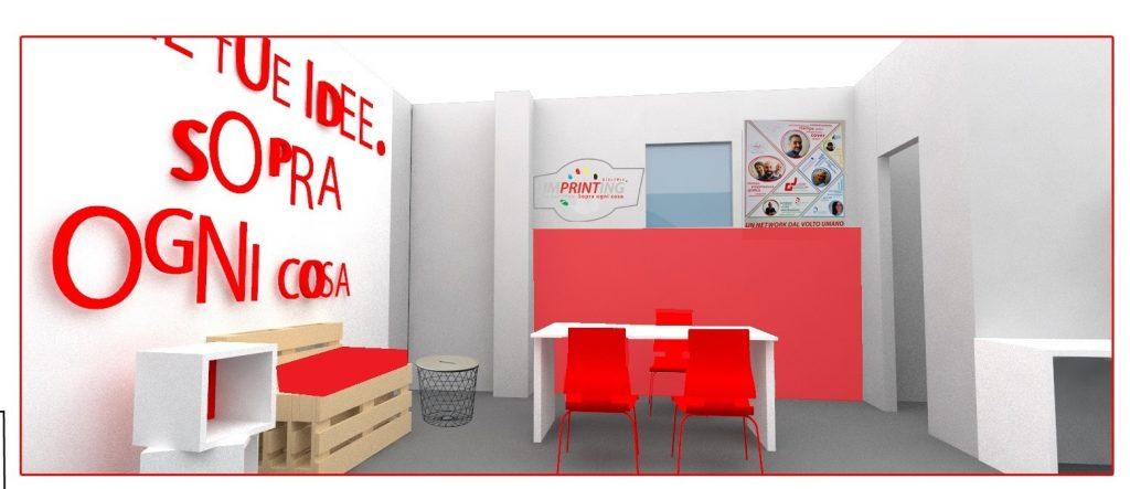 Ancora un avventura con Imprinting digitale: ristrutturazione store Cremona - image parete-rossa-1024x443 on http://www.designedoo.it