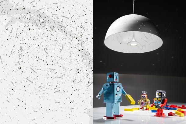 Un arredamento di design…spazziale! - image stelle-lampada-della-luce-Starry-da-Anna-Farkas-graphic-designer-e-hobby-astrologo-e-Miklos-Batisz-interior-designer1 on http://www.designedoo.it