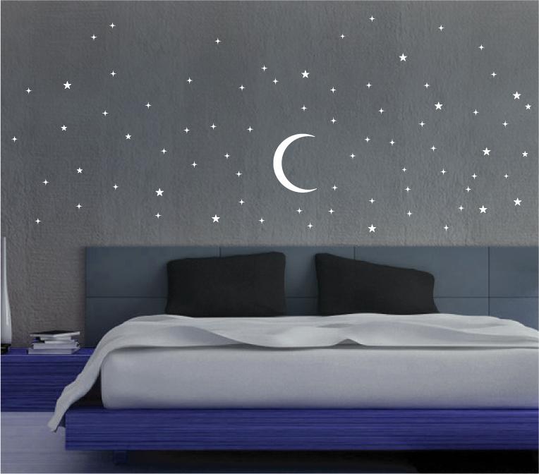 Un arredamento di design…spazziale! - image stelle-stickers-decorazioni-prespaziate-in-vinile-ORACAL on http://www.designedoo.it