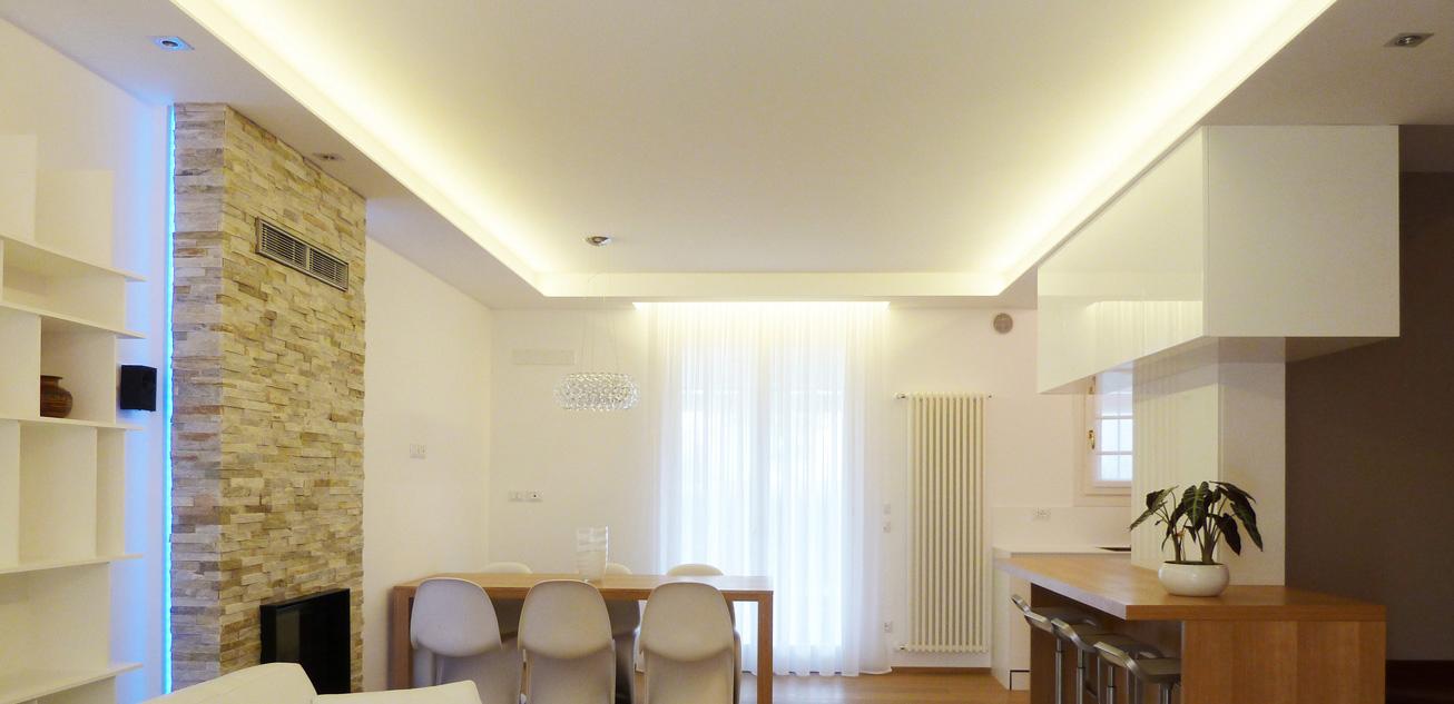 Controsoffitto cartongesso architettura e design a roma - Controsoffitti camera da letto ...