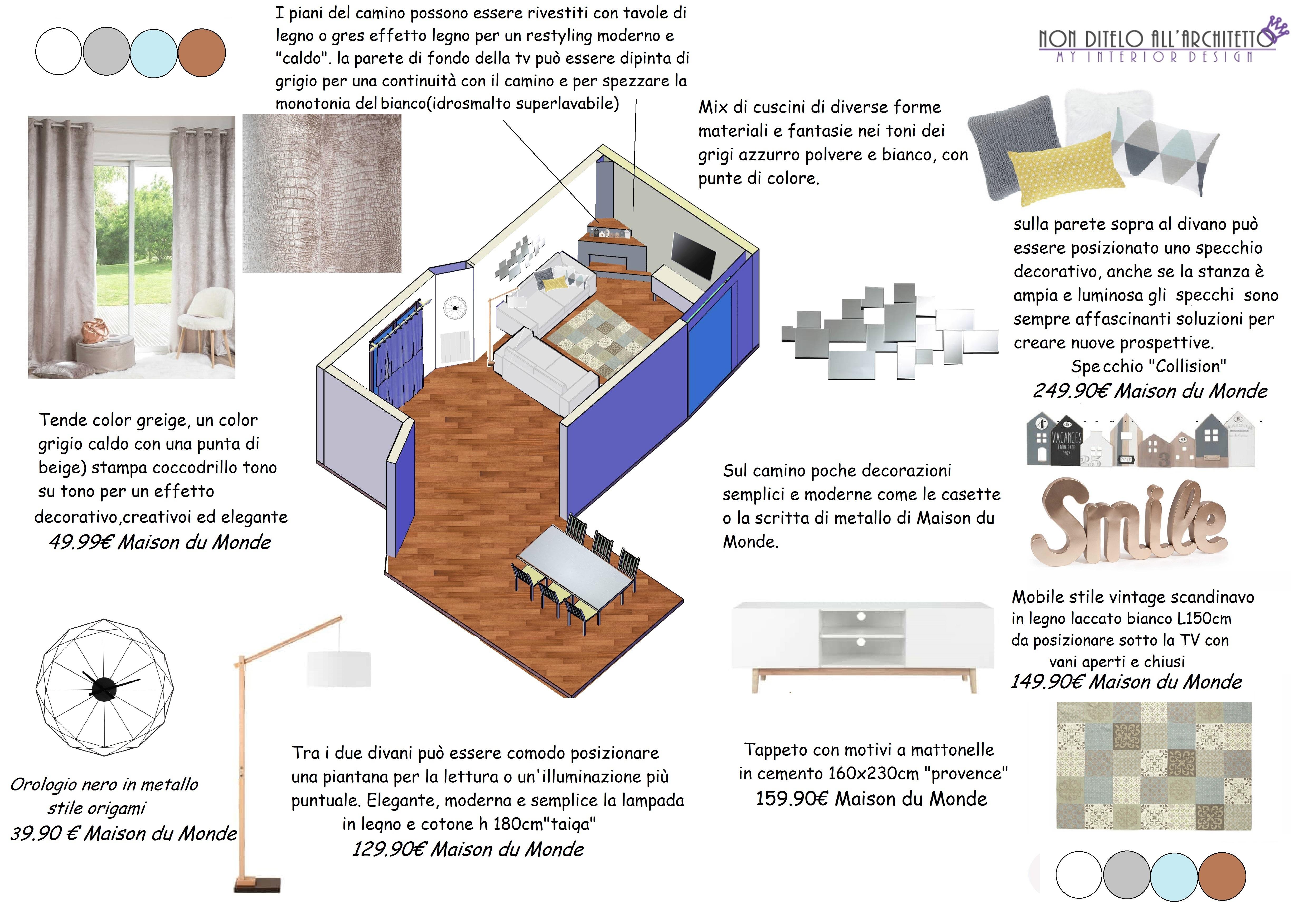 Cuscini Divano Maison Du Monde.Tav Vista Camino Architettura E Design A Roma